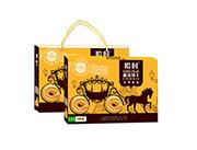 曲奇黄盒礼盒手提袋1080g