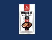全航食品黑椒牛排黑呦70g
