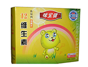 12维生素+铁锌钙泡腾片(儿童型)