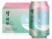 慢荷茶荷叶茶饮料310ml×6罐