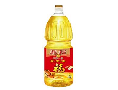 压榨一级花生油1.8L-鼎福