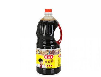 鲜溢美1.8L味极鲜酱油