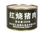 盘典红烧猪肉罐头500克