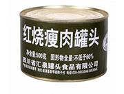 盘典红烧瘦肉罐头500克