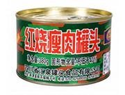 盘典红烧瘦肉罐头(迷彩装)380克