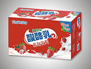 喜相�S草莓味酸酪乳味�料箱�b