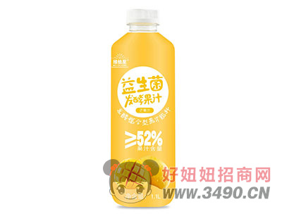维他星益生菌发酵果汁1.1L芒果味