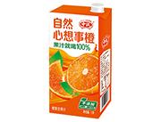 中沃自然心想事橙橙复合果汁1L