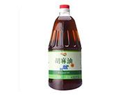 百吉乐红井源-浓香胡麻油(亚麻籽油)1.8L