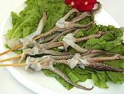 鱿鱼头串-喜洋洋