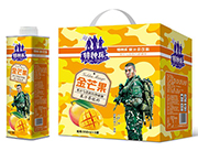 特种兵金芒果果汁茶饮料958ml×6罐