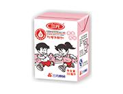 三元草莓味�W生�用�牛奶200ml箱�b