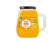 淇果庄园鲜果坊香蕉+芒果复合果汁345ml