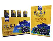 心上佳蓝莓汁16X250ml