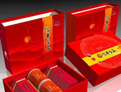 信华休闲食品礼盒