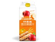 欢喜缘(山楂+陈皮+麦芽+山药)混合果蔬汁饮料1L