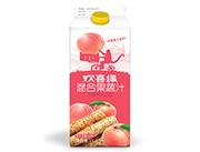欢喜缘(水蜜桃+山药)混合果蔬汁饮料1L