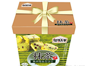 福传万家抹茶蔓越莓曲奇饼干1.18kg礼盒装