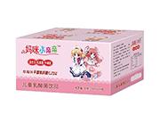 妈咪小亲亲益生元儿童乳酸菌饮品草莓味200mlX24瓶