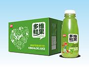 非赢多维鲜果猕猴桃芦荟复合果汁饮料350mlX15瓶