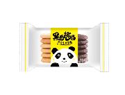 黑白搭档酥性饼干(黄)