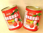 小白鼠糖水荔枝罐头