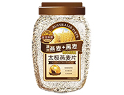 金日禾野澳洲燕麦+黑麦太极燕麦片900g
