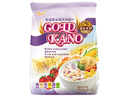 金日禾野紫薯黑米果蔬燕麦片450g