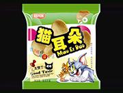 酷米客猫耳朵绿袋