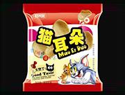 酷米客猫耳朵红袋