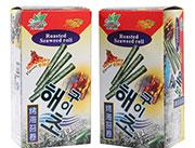 食得福海苔卷香辣味72g盒装