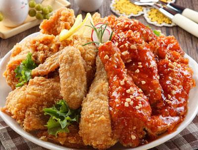 韩式炸鸡-三统万福