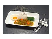 咖喱牛腩快餐饭新农牛肉