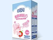 爱幼唯酸奶果粒方草莓味