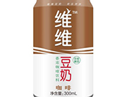 维维香浓咖啡饮料豆奶300ml