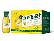 卫享水果玉米汁果汁饮料1Lx6瓶
