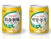 245ml百合农场芒果汁饮料