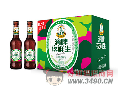 漓啤夜鲜生精酿鲜啤330mlX24瓶