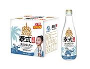 泰式生榨果肉椰子汁植物蛋白饮料1.25LX6瓶
