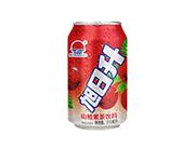 旭日升山楂果茶饮料310ml
