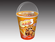 乐彩猫杯造型原味虾条30g