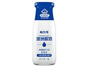 畅饮哆澳洲酸奶蓝莓味发酵酸奶饮品1L