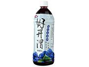 红利莱好开渭野生蓝莓汁1L