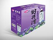 红利莱好开渭野生蓝莓汁1Lx6瓶