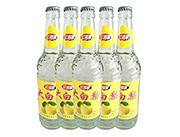 红利莱大白梨果味汽水600mlX9瓶