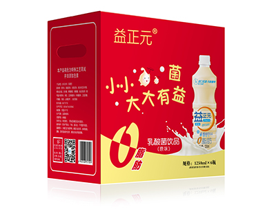 益正元原味乳酸菌�品1250ml×6瓶