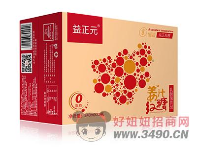 益正元姜汁红糖乳酸菌lehu国际app下载340ml×12瓶