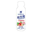 优牛益生菌草莓椰果果粒酸奶饮品310ml