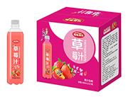 摇摇潮饮草莓汁饮料480ml×15瓶