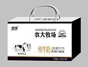 维维农大牧场纯牛奶250mlX12盒